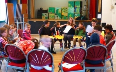 October half term drama and craft at Minchinhampton Youth Centre