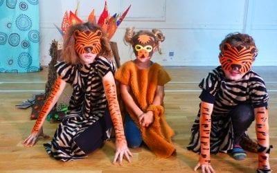 'West Side Jungle' Easter theatre workshop…Actors, dancers, artists, crazy kids!