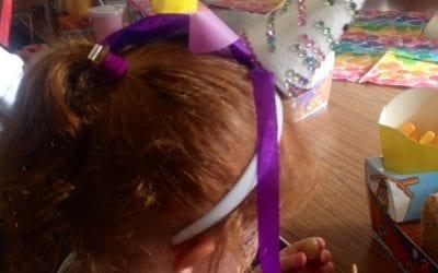 Unicorn headbands craft