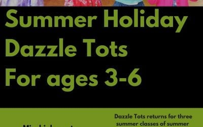 Dazzle Tots afternoon for creative toddlers