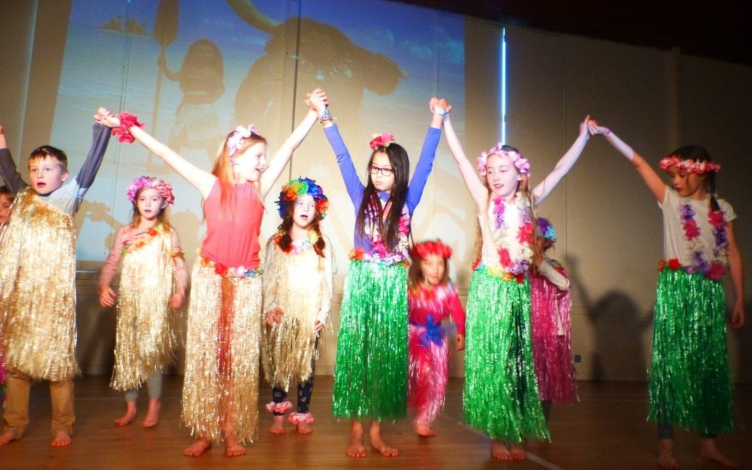 Moana workshop …  brightening up a winter weekend