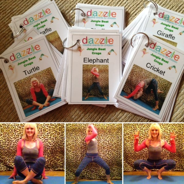 Kids themed yoga cards- only £1 a pack!!