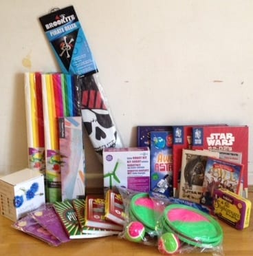 crazy golf weekend raffle prizes!