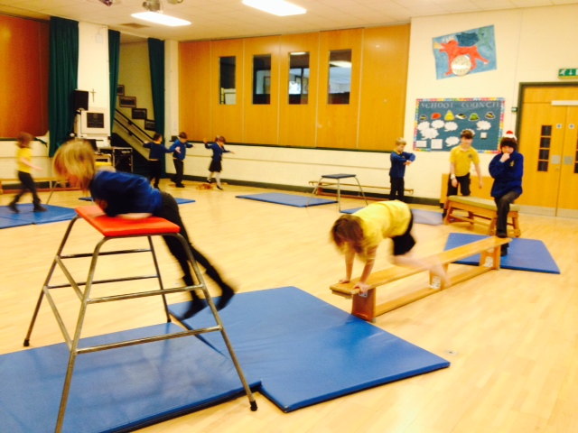 Parkour fun at Minch Wake Up Club