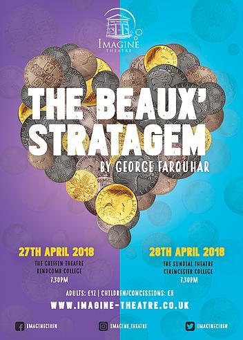 Imagine Theatre presents The Beaux' Stratagem
