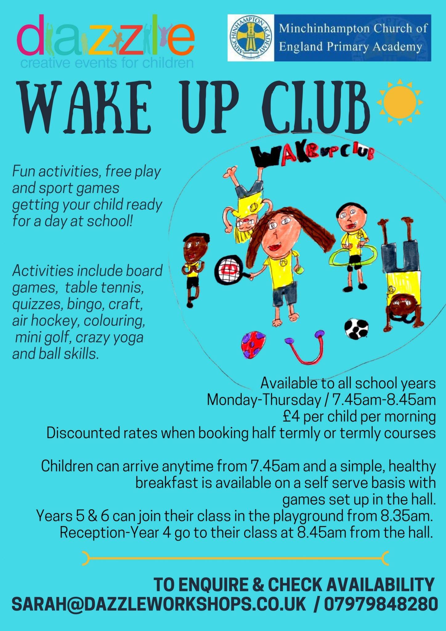 972ed6b3570 Wake Up Club-Monday Full Term - FULL - Dazzle Workshops