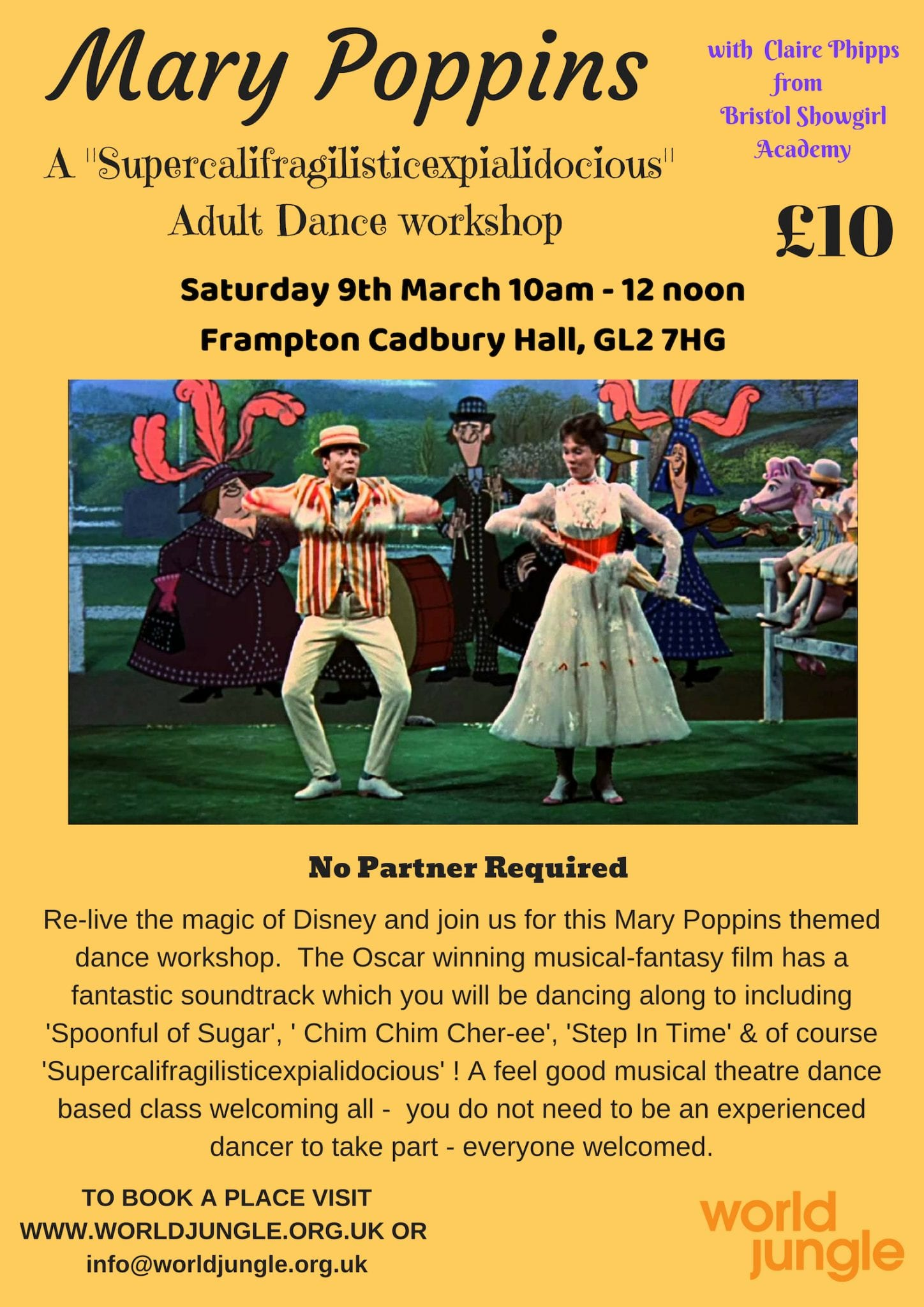 Dance Workshop Poster