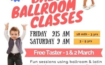 Baby Ballroom classes at Britannia Dance in Stroud