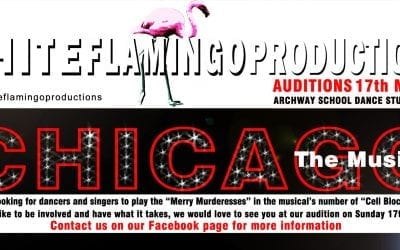 Chicago Musical auditions in Stroud!