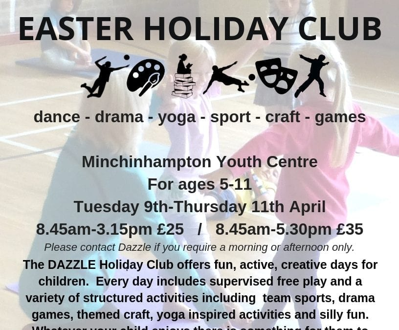 Creative, sporty, fun & personal Easter children's holiday club in Stroud
