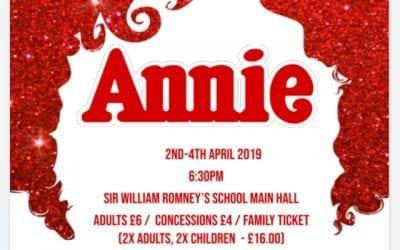 'Annie' Musical at Sir William Romney's in Tetbury