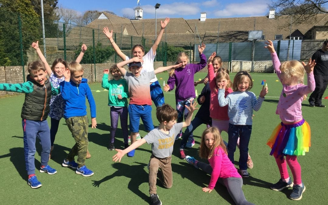 50 active, creative, happy kids at the Easter Holiday Club!
