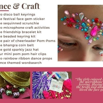 Dance & Craft Activity Pack