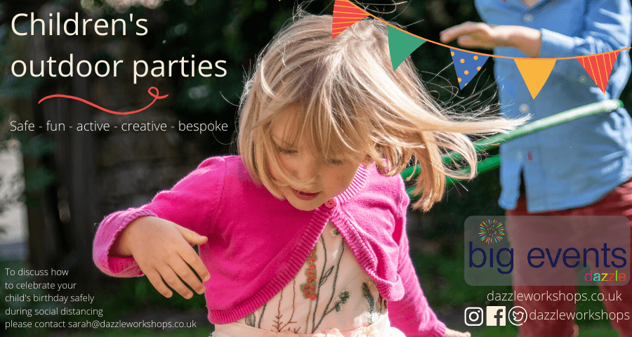 Children's safe outdoor parties in Gloucestershire