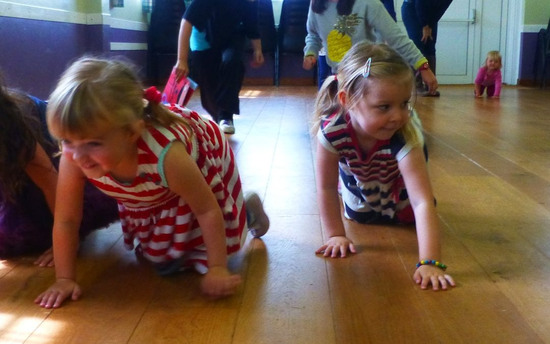 'Under the Sea' pre-school summer holiday class in Stroud