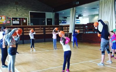 Street dance 'Basketball style' at NEW kids stroud dance club