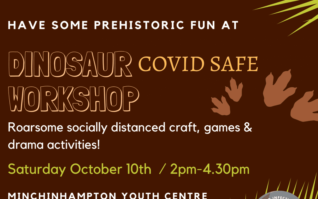 Dinosaur themed creative weekend workshop