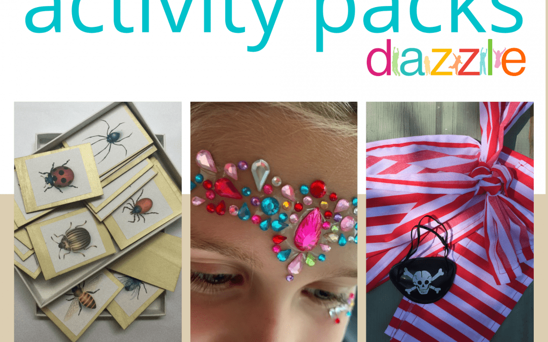 Kids themed Activity Packs … ideal Christmas presents!