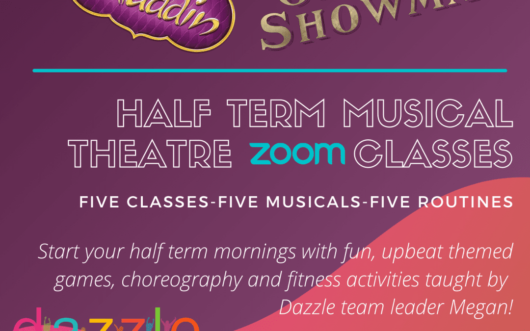 February half term Zoom kids dance classes!