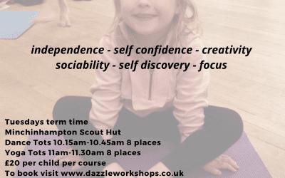 Pre-school yoga classes near Stroud