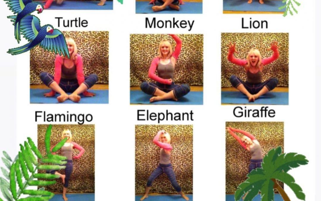 Fun pre-school yoga classes near Stroud soon!