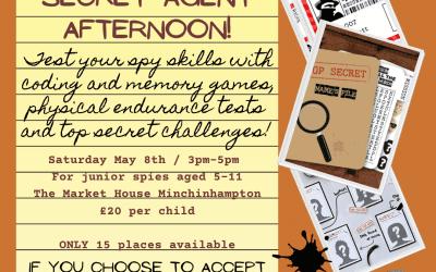 Kids 'Secret Agent' workshop in Stroud!