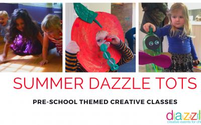 Pre-school summer holiday fun in Stroud