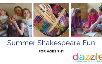 Kids summer holiday Shakespeare fun in Stroud